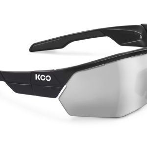 Koo Open Cube : Smoke Mirror Lens : Black : Small