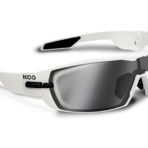 Koo Open : Smoke Mirror Lens : White : One Size