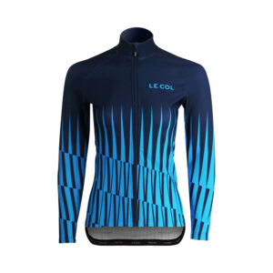 Le Col Womens Long Sleeve Aqua Zero Jersey