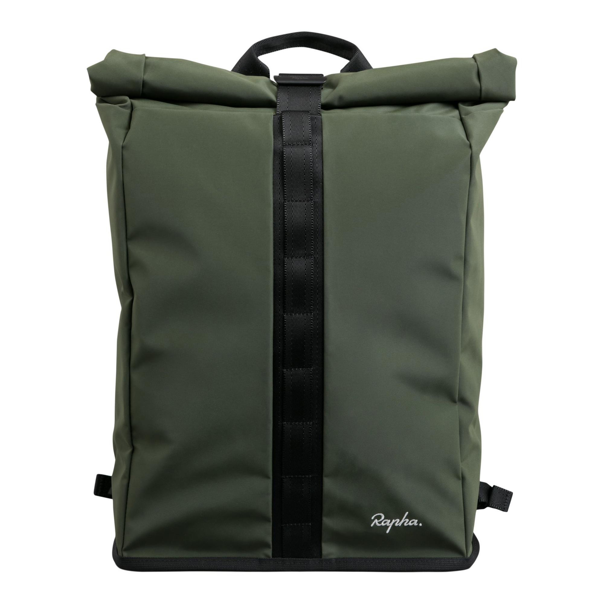 Rapha Roll Top Backpack : Black : One Size