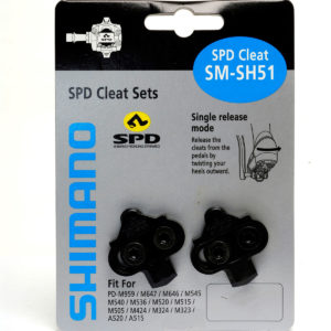 Shimano SH51 MTB SPD Cleats
