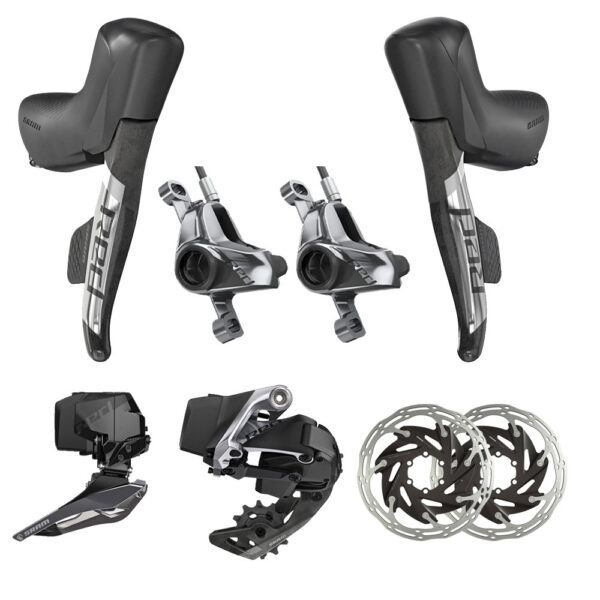 Sram Red eTap AXS 2X Electronic HRD Groupset