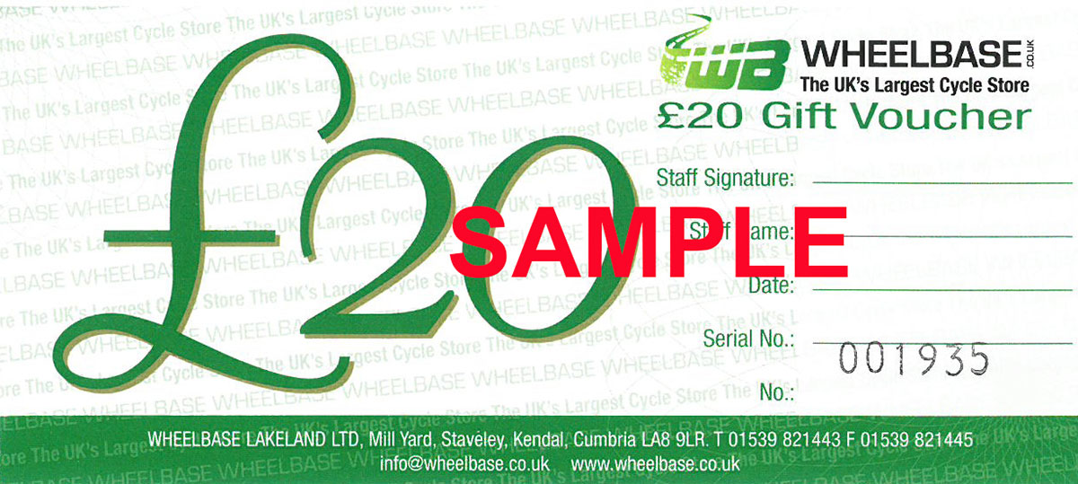 Wheelbase £20 Gift Voucher