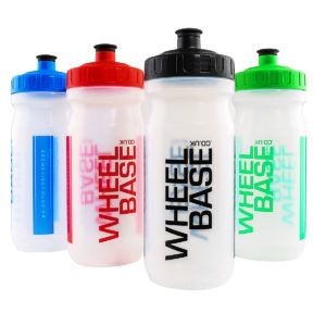 Wheelbase Clear Bottle 600ml