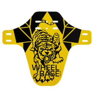 Wheelbase Custom Front Guard : Yellow Tiger